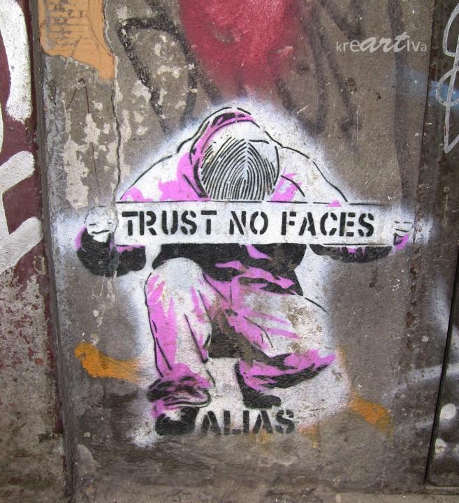 trust no faces (by alias), Berlin Germany 2010.