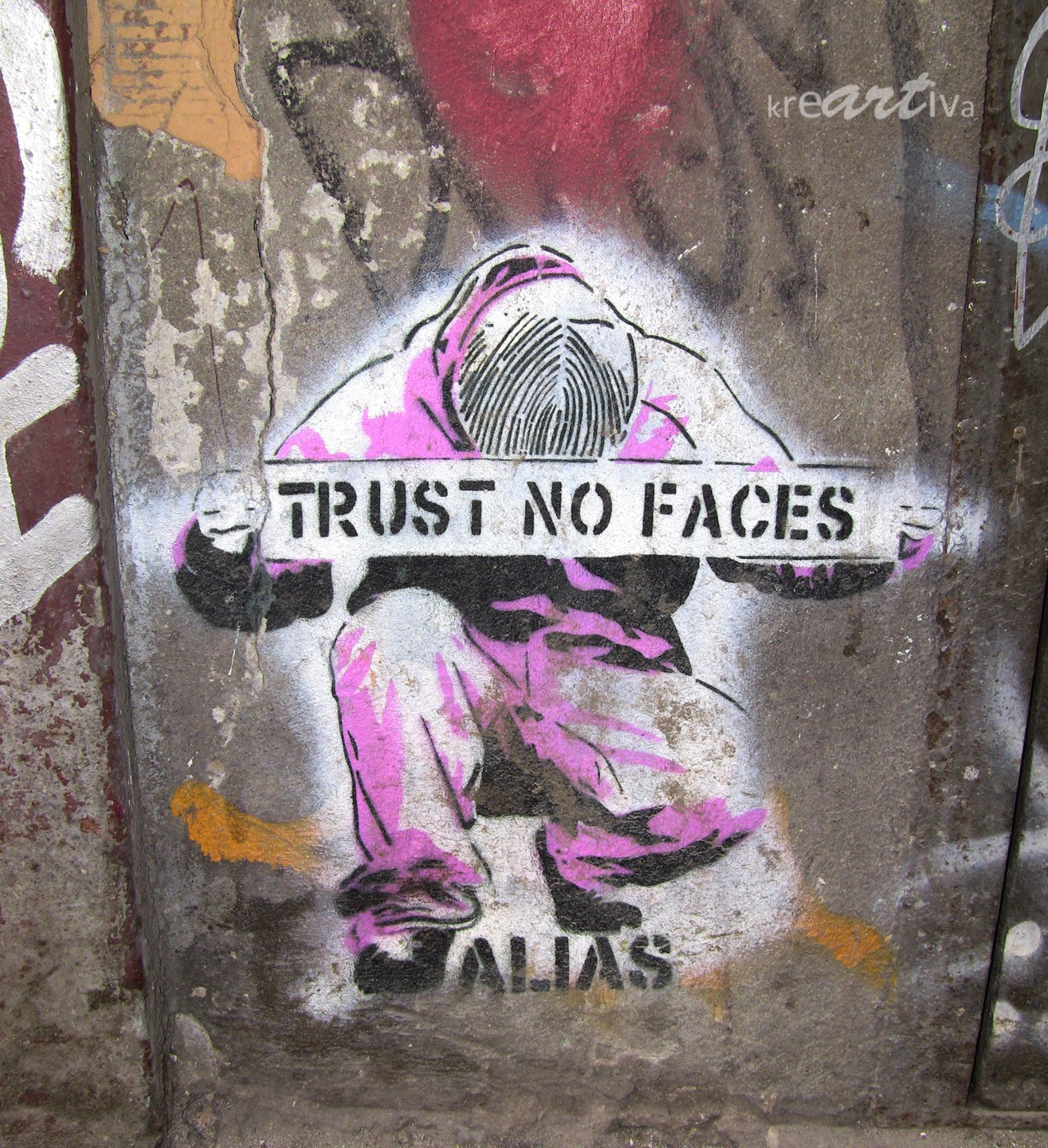 trust no faces (by alias), Berlin Germany 2010.