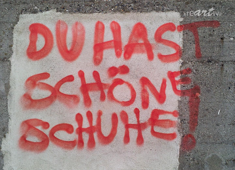 Du hast schöne Schuhe! Hamburg Berlin 2011.