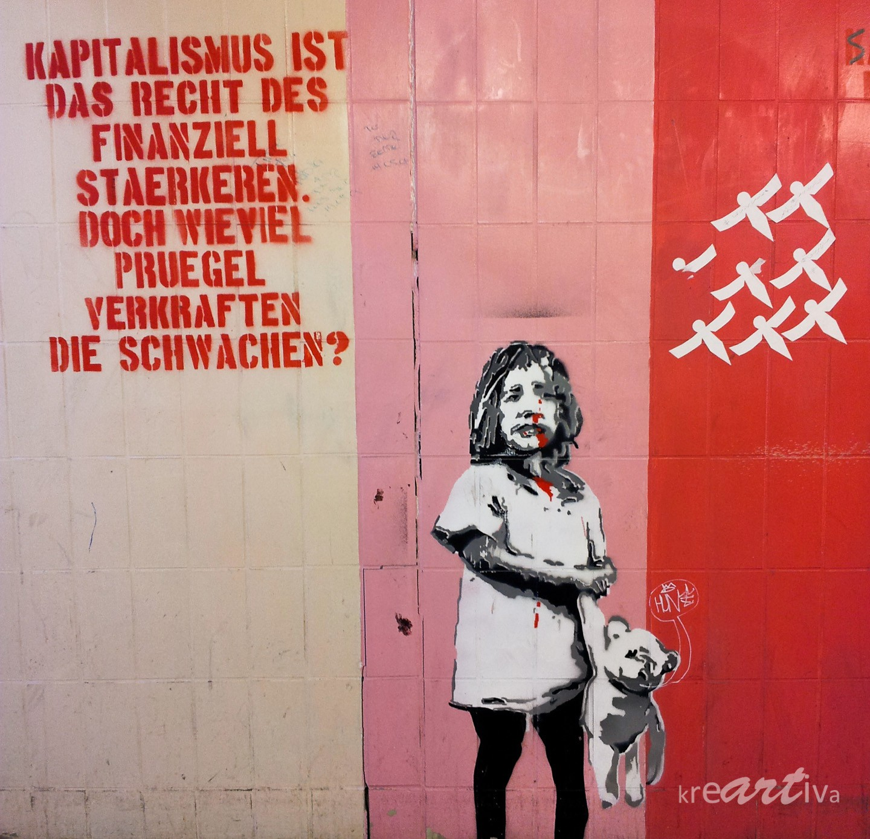 Kapitalismus ist ..., Erlangen Germany 2012.