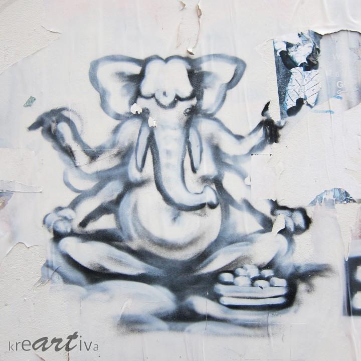 Ganesh, Groeningen Niederlande 2013.
