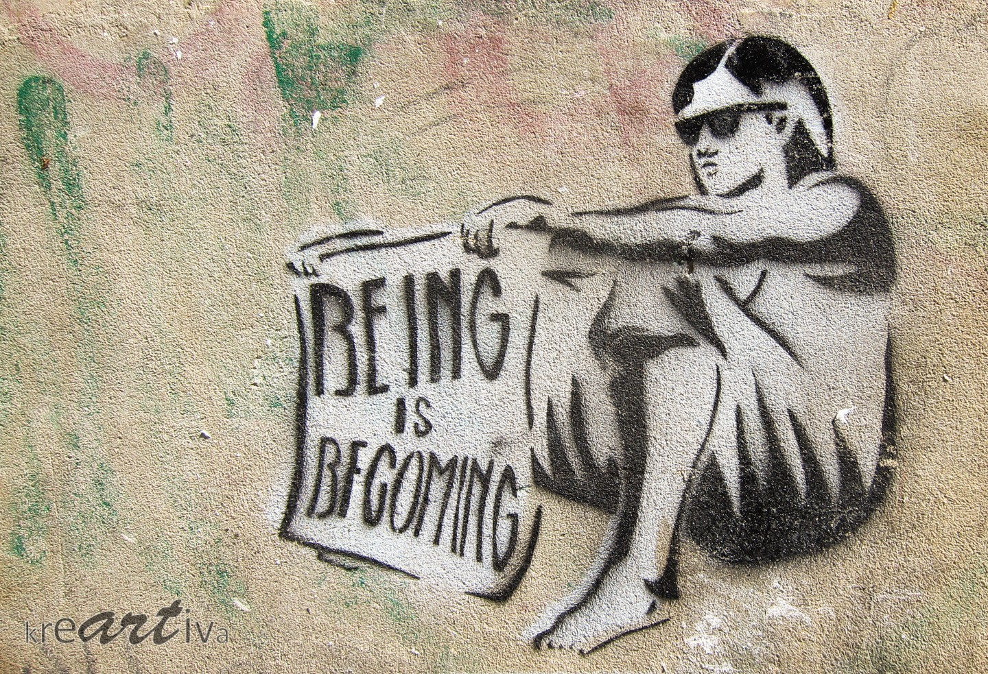BEING is BECOMING, Dresden Deutschland 2014.