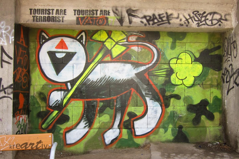 Tourist are Terrorist, Wien Österreich 2014.