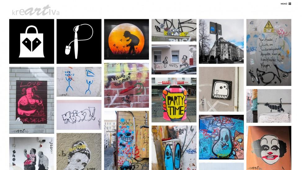 Blogdesign von kreartiva 2014-2015