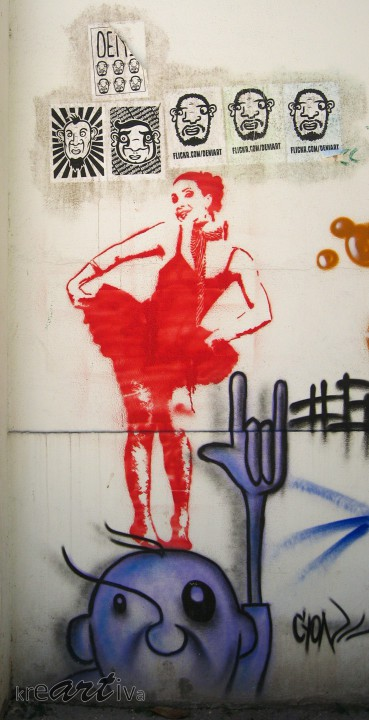 Lady on Kopp, Rio de Janeiro Brasilien 2010.