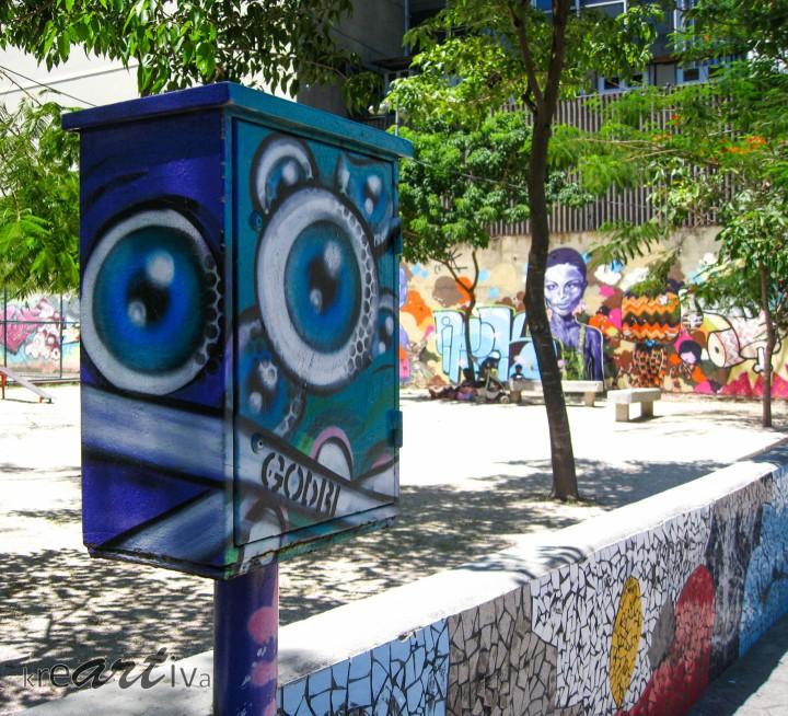 The Eyes, Rio de Janeiro Brasilien 2010.