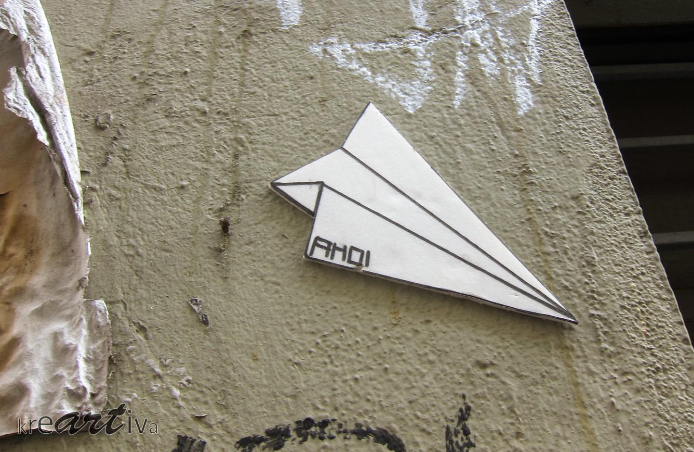 Papierflieger, Bremen Deutschland 2014.