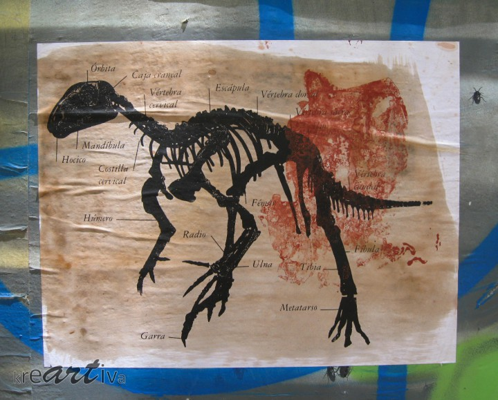 Anatomía Dinosauria, Santiago Chile 2009.