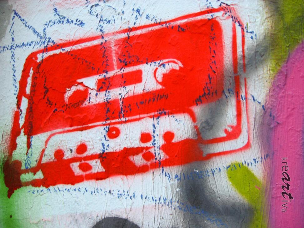 Cassette. Valparaíso Chile 2009