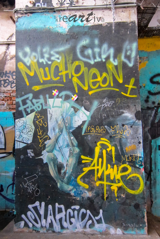 Mucho Neon in Leipzig Deutschland 2015