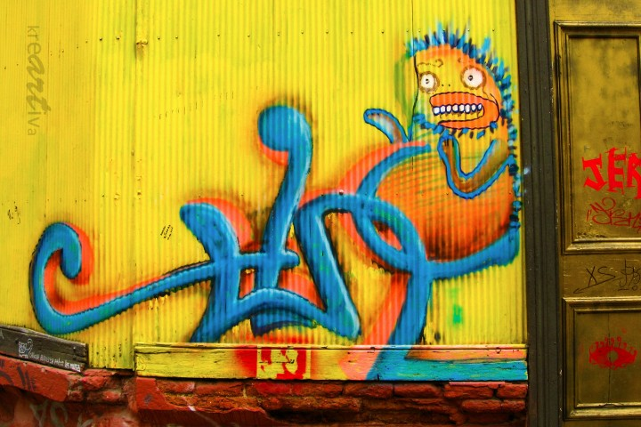Relajado, Valparaíso Chile 2009.