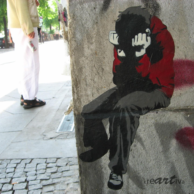 sad – triste – traurig, Berlin Germany 2011.