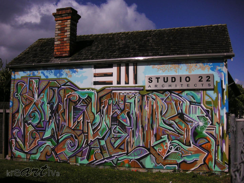Studio 22, New Zealand 2006.