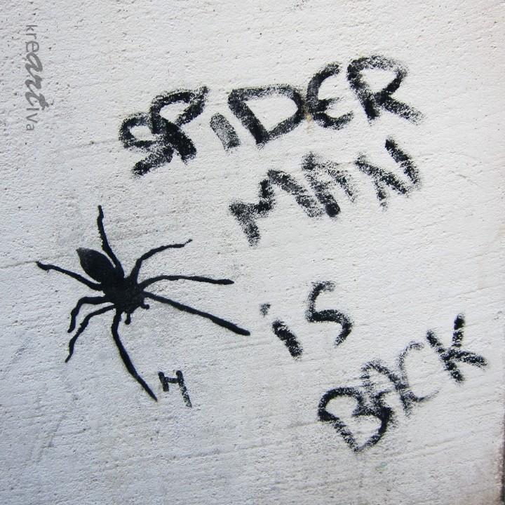 spider man is back, Paris France 2013.