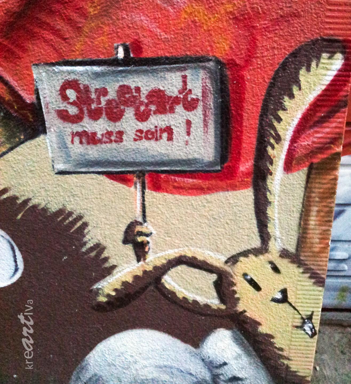 Streetart muss sein! Köln Germany 2012.
